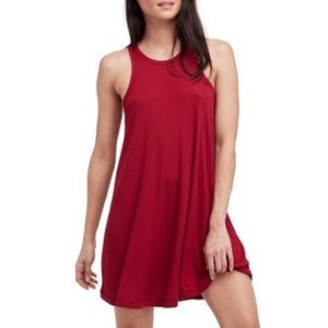 FREE PEOPLE NWT LA Nite Tank Dress in Raspberry